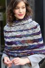 Malabrigo Caracol Bethune Striped Capelet Kit