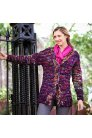 Malabrigo Caracol Hudson Long Cardigan Kit