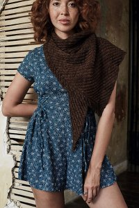 Anzula Squishy Audre Shawl Kit - Scarf and Shawls