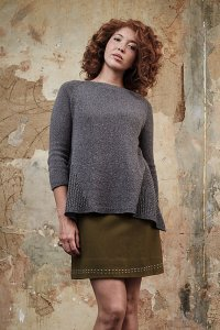 Shibui Knits Pebble O'Keefe Pullover Kit - Women's Pullovers