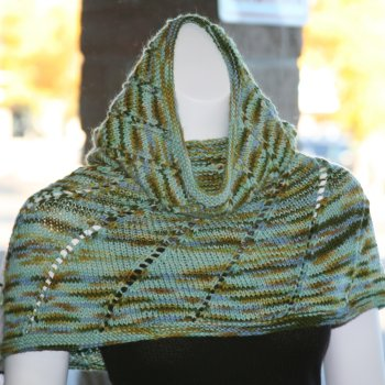 Misti Alpaca Hand Dyed Worsted Balsam Cowl Kit - Scarf and Shawls
