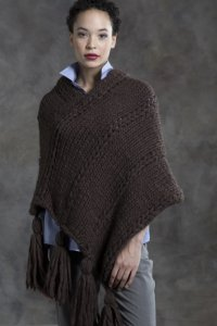 Tahki Yarns Big Montana Walnut Poncho Kit - Women's Accessories