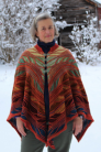 MarinJa Knits Patterns - Technicolor Dreamcloak - PDF DOWNLOAD