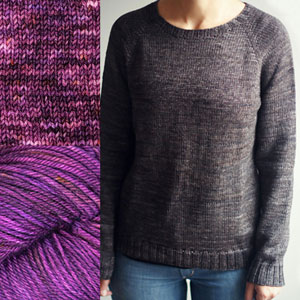 Madelinetosh Sweater Club - Sunsetter - M, L (38, 42) inches
