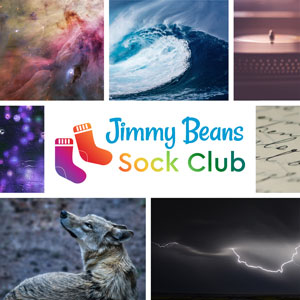 Jimmy Beans Wool 2020 Jimmy Beans Wool Sock Club - *Monthly Auto-Renew Subscription - Moody and Bold
