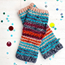 Vickie Howell High Five Collection Patterns - High Five Wrist Warmers (crochet) - PDF DOWNLOAD