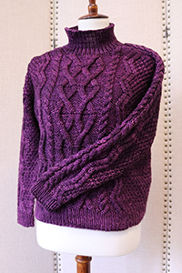 Madelinetosh Tosh Patterns - Clara Cables - PDF DOWNLOAD Pattern