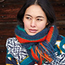 Rowan Arne and Carlos New Nordic PDF Patterns - Dreng Scarf - PDF PATTERN
