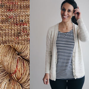 Madelinetosh Sweater Club - Spice Market - S, M (32.5, 36.5) inches