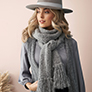 Rowan MODE at Rowan - Soft Boucle & Merino Aria - Soft Boucle Scarf - PDF DOWNLOAD
