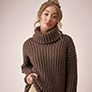 Rowan MODE at Rowan - Soft Boucle & Merino Aria - Sweater - PDF DOWNLOAD