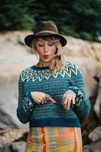 Andrea Mowry Drea Renee Knits Patterns - Sparky Pattern