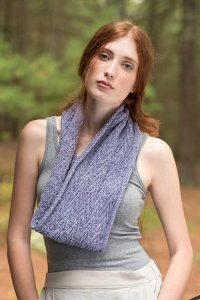 Berroco Remix Cohansey Cowl Kit - Scarf and Shawls