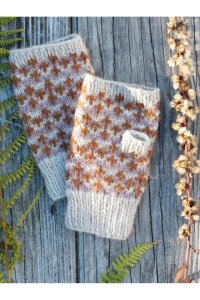 Berroco Ultra Alpaca Cloudberry Mitts Kit - Hats and Gloves