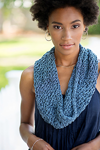 Berroco Regatta Praia Cowl Kit - Scarf and Shawls