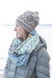 Berroco Vintage Scandi Cowl Kit - Scarf and Shawls