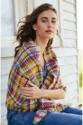 Rowan Softyak DK and Creative Linen Eshana Wrap  Kit