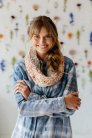 Knit Collage Yarn Sampler Crochet Cowl Kit