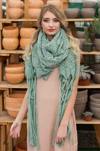 Cascade Yarns Alpaca Lace Aloe Wrap Kit - Scarf and Shawls