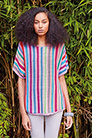 Rowan Handknit Cotton Garden Party Stripe Tee Kit