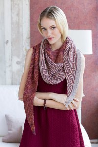 Malabrigo Dos Tierras Barnstable Shawl Kit - Scarf and Shawls