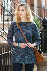 Malabrigo Arroyo Greenwich Pullover Kit - Women's Pullovers