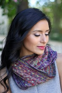 Malabrigo Mechita Bryce Canyon Cowl Kit - Scarf and Shawls