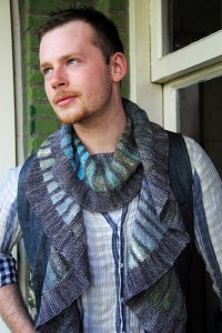 Noro Silk Garden Sock Spectra Scarf Kit - Scarf and Shawls