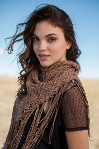 Berroco Suede Frontier Shawl Kit - Scarf and Shawls