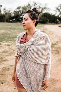 Madelinetosh Tosh Merino Light Macklin Shawl Kit - Scarf and Shawls