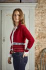 Rowan Valley Tweed Dee Motif Cardigan Kit