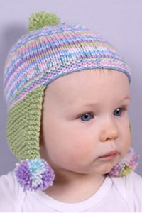 Plymouth Yarn Dreambaby DK F715 Baby Chula Hat Kit - Baby and Kids Accessories