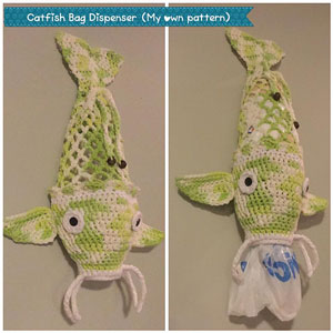 Berroco Pima 100 Catfish Bag Dispenser Kit - Crochet for Home