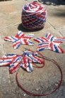 Swans Island All American Sport (100 grams)  Americana Holiday Garland Kit
