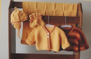 Ann Norling Patterns - 68 - Infant Set III Pattern