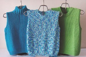 Ann Norling Patterns - 50 - Quick Knit Shell (Discontinued) Pattern