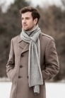 Blue Sky Fibers Eco-Cashmere Roscoe Scarf  Kit