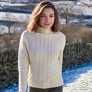 Rowan Valley Tweed Beautham Pullover Kit - Women's Pullovers