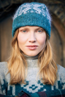 Rowan Felted Tweed & Kidsilk Haze Solveig Hat Kit