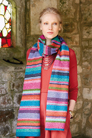 Rowan Felted Tweed Vibrant Stripe Scarf Kit