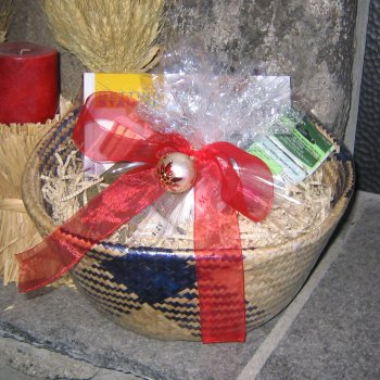 The Sock Knitting Gift Basket Kit - Gift, Needle and Pattern Sets