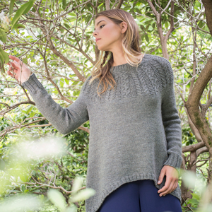 Berroco Ultra Wool Rope & Braid Pullover Kit - Women's Pullovers
