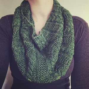 Madelinetosh Tosh Chunky Forest Park Cowl Kit - Scarf and Shawls
