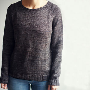 Madelinetosh Farm Twist Basic Raglan Pullover Kit - Women's Pullovers