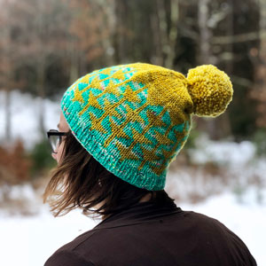 Madelinetosh Farm Twist Good Cheer Hat Kit - Hats and Gloves