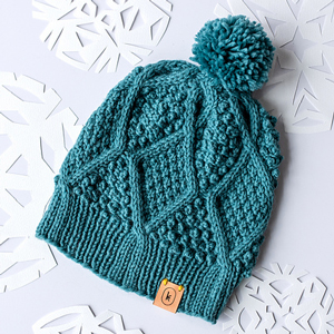 Kelbourne Woolens Germantown January Hat Kit - Hats and Gloves