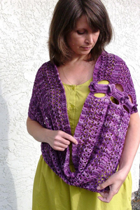 Malabrigo Arroyo Miss Erio Infinity Scarf Kit - Scarf and Shawls