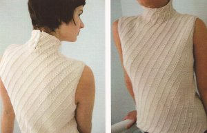 Ilga Leja Handknit Designs Patterns - Fluid Linen Pattern