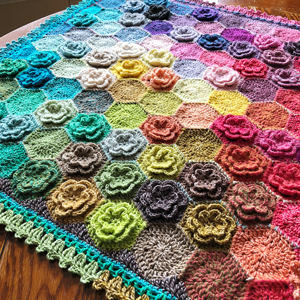 Scheepjes Colour Pack Happy Little Tree Blanket Kit - Crochet for Home