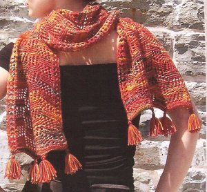 Ilga Leja Handknit Designs Patterns - zBrickwork Pattern